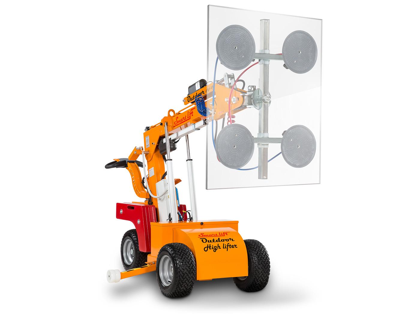 380 Outdoor High Lifter | Glass Lifting Machine | SmartLift®