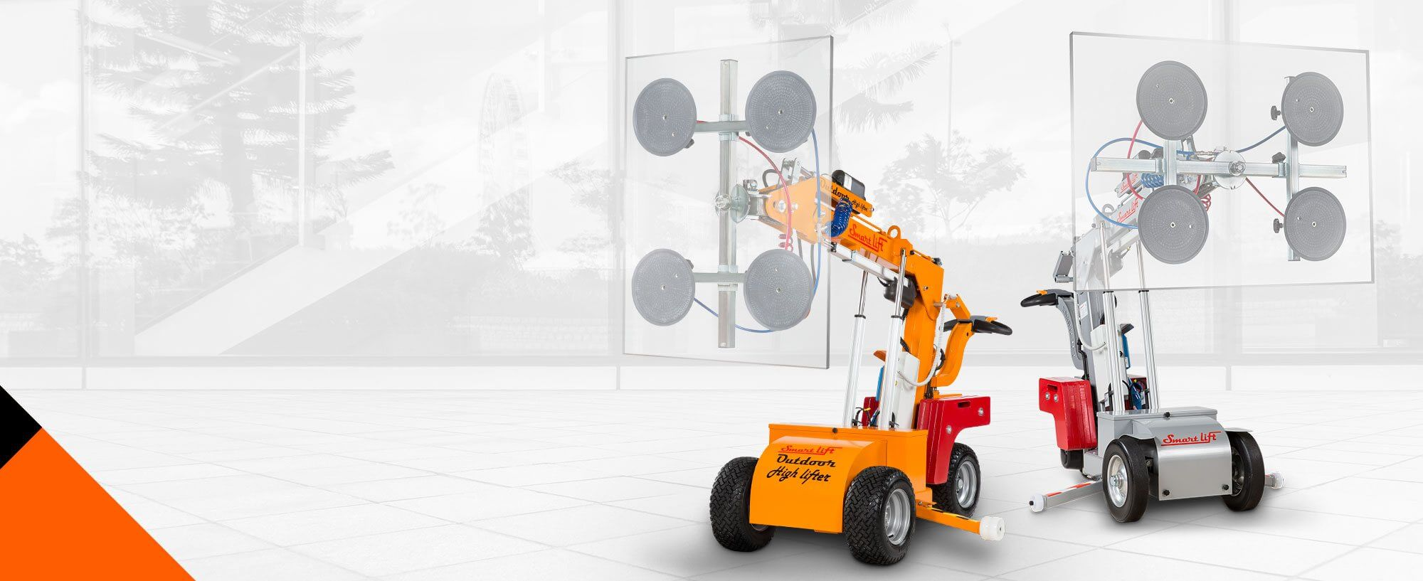 SmartLift® Glass Handling Machines